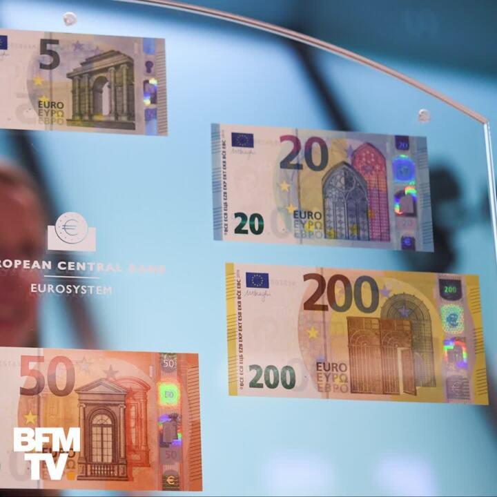 Les Nouveaux Billets De 100 Et 200 Euros Devoiles