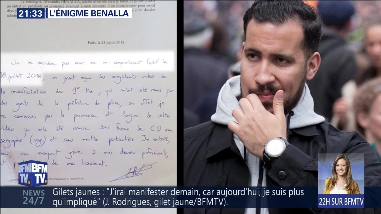 L Enigme Benalla Revoir Le Grand Reportage De Bfmtv