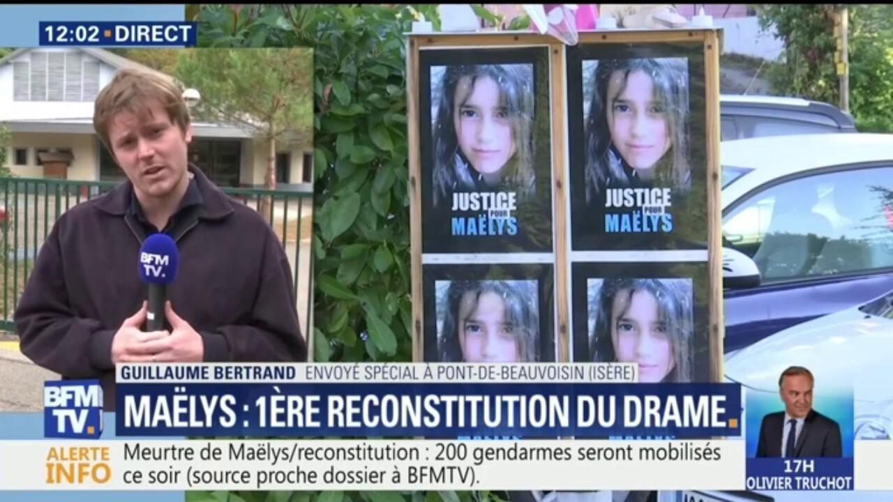 """Résultat de recherche d'images pour """"reconstitution affaire maelys"""""""