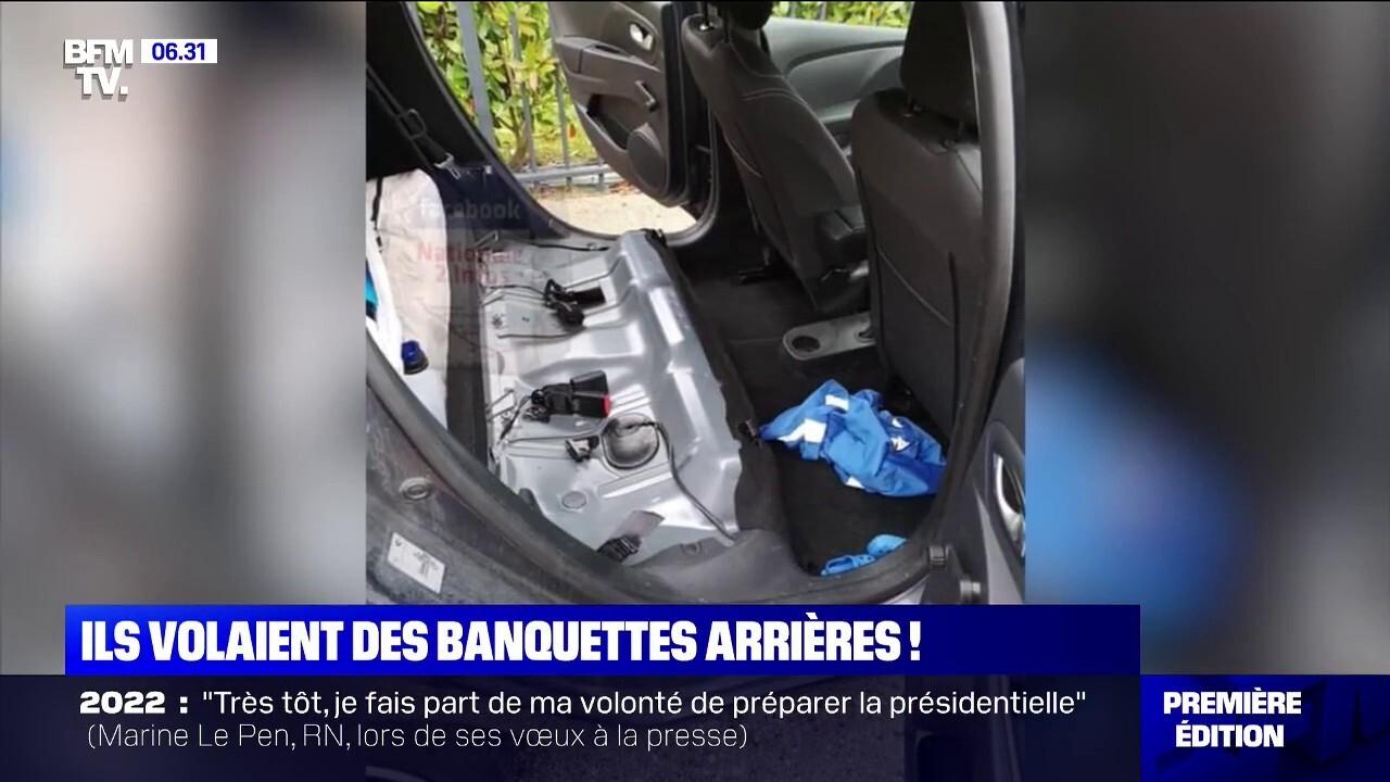 Un Gang De Voleurs De Banquettes De Clio Démantelé En Région Parisienne