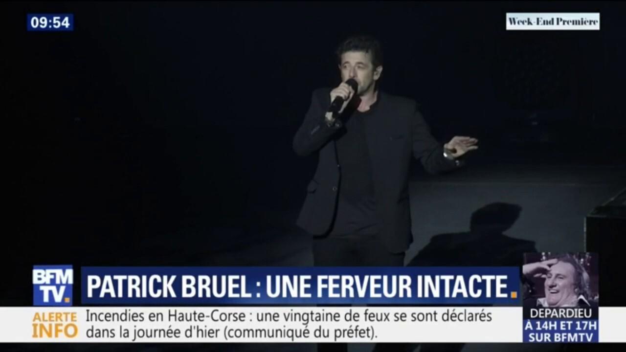 Patrick Bruel en concert: une ferveur intacte