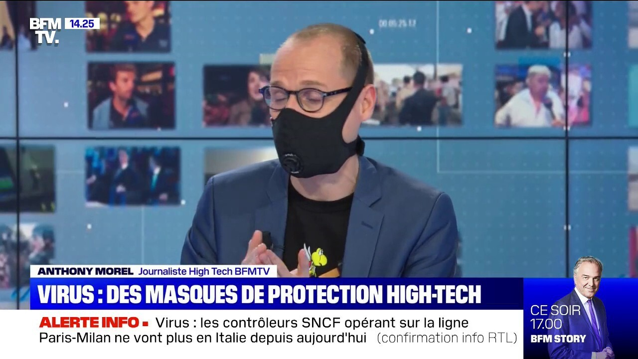 masques de protection virus