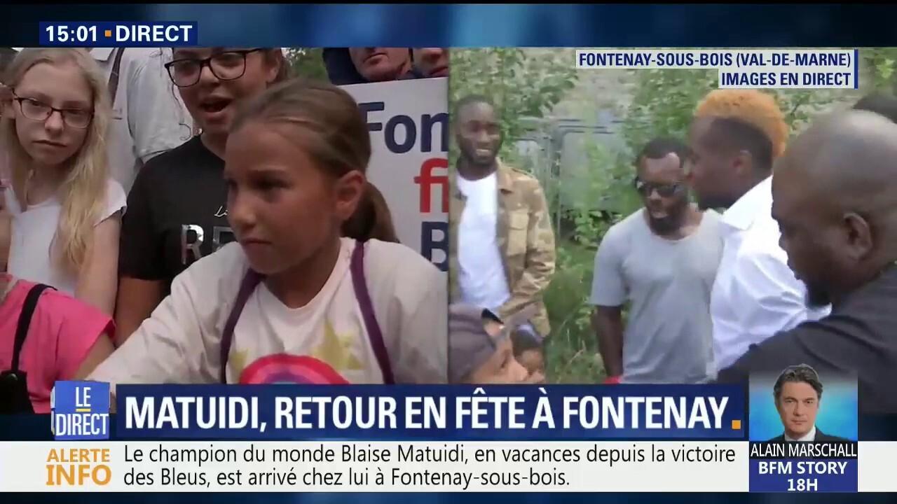 Japonais Val De Fontenay blaise matuidi de retour dans son club d'enfance à fontenay-sous-bois