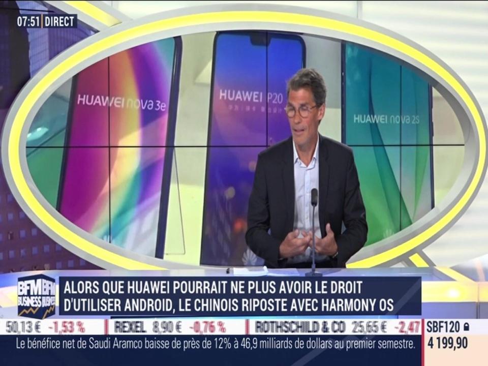 Huawei a dévoilé ce week-end son propre système d'exploitation Harmony OS -  13/08