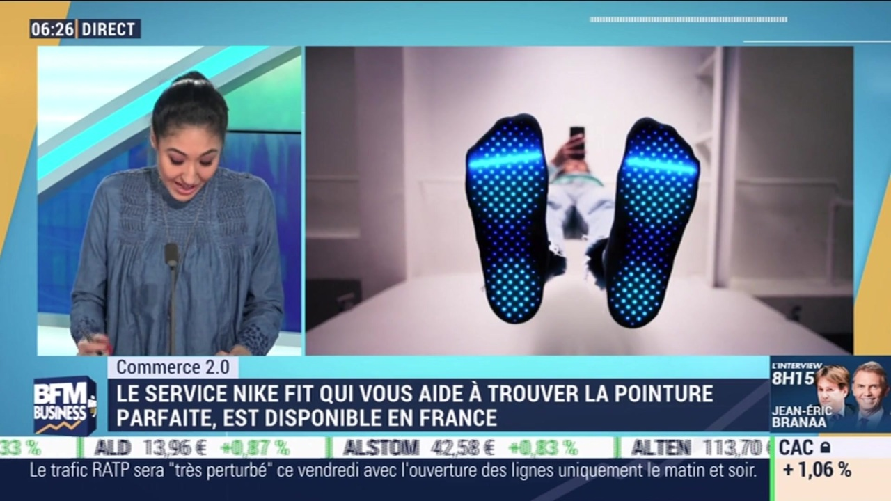 Commerce 2.0 : La technologie Nike Fit est disponible en France par Anissa Sekkai 0301