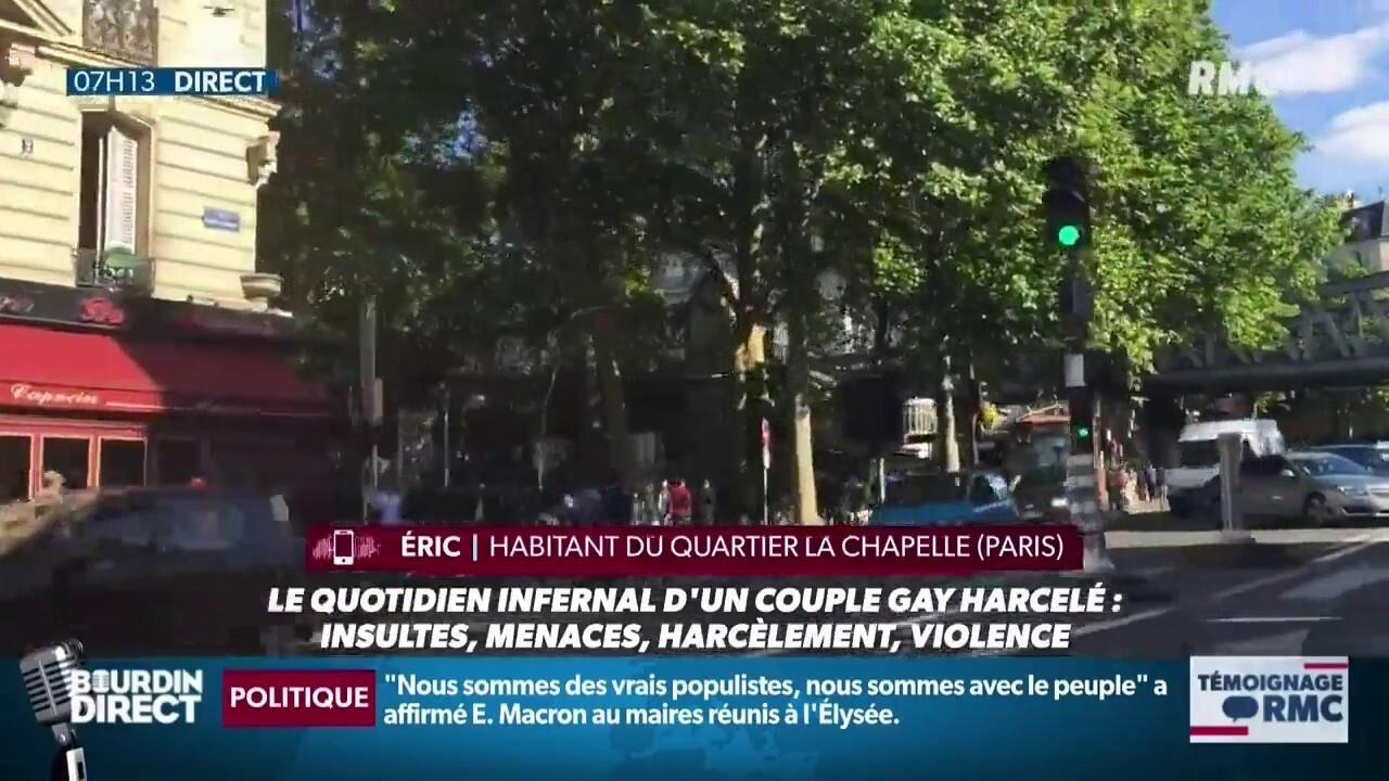 Homophobie: le quotidien infernal d'un couple gay harcelé: insultes, menaces, harcèlement, violence