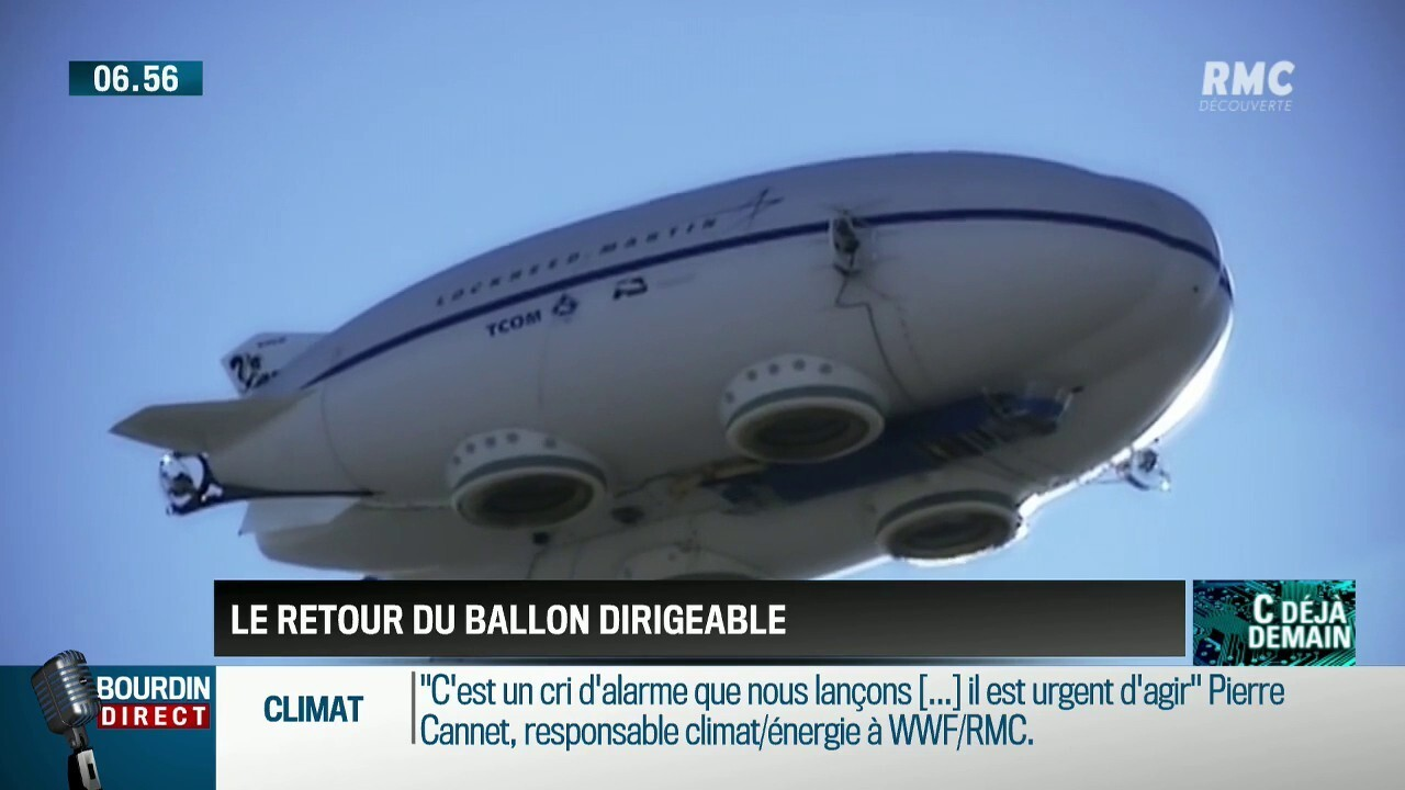 ballon dirigeable maison