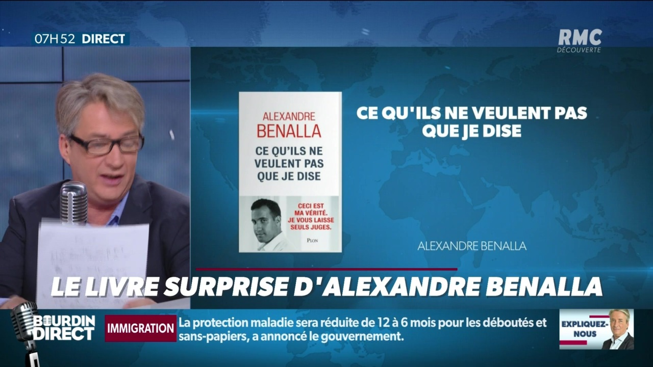 Nicolas Poincare Le Livre Surprise D Alexandre Benalla 07 11