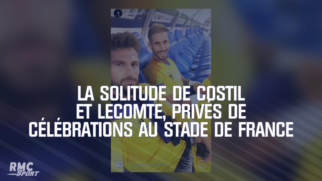 Equipe De France Pendant La Fête Des Bleus Costil Et Lecomte