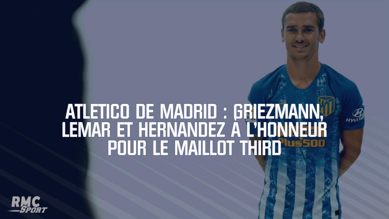 Maillot THIRD Atlético de Madrid L. Hernández
