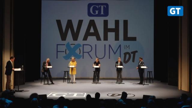 GT-Wahlforum zur Göttinger OB-Wahl 2021 im Deutschen Theater